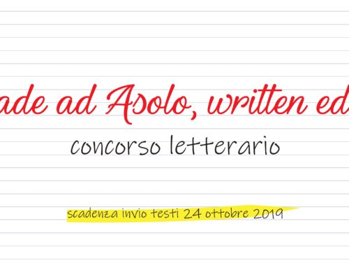 Accade ad Asolo, written edition