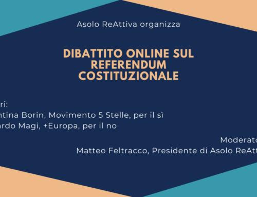 Dibattito online sul referendum costituzionale 2020