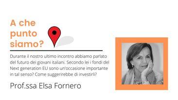 Giovani e futuro – Prof. Elsa Fornero
